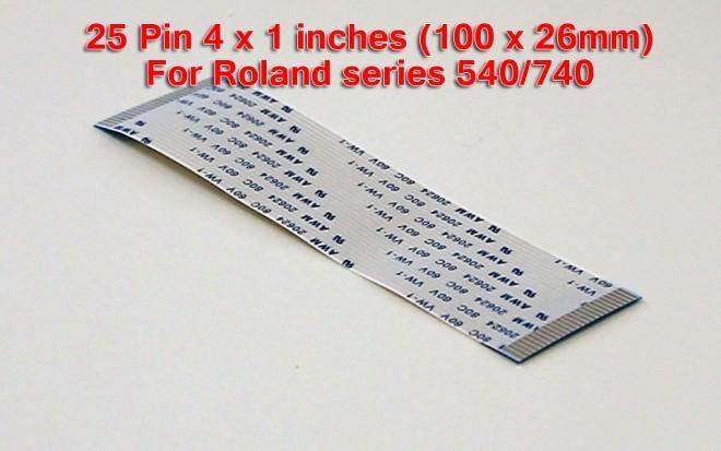 Roland FJ-540 Cable 25 pin