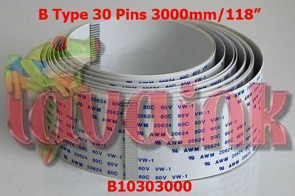Mimaki JV33 Cable Mimaki JV33 Data Cable 30 pin B10303000