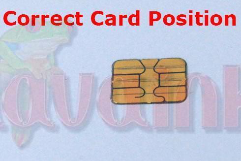 Smart Card Position Correct