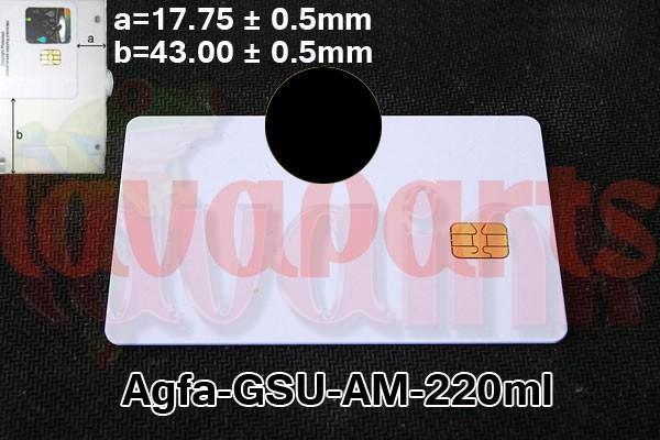 Black Agfa GSU AM Chip 220 ml