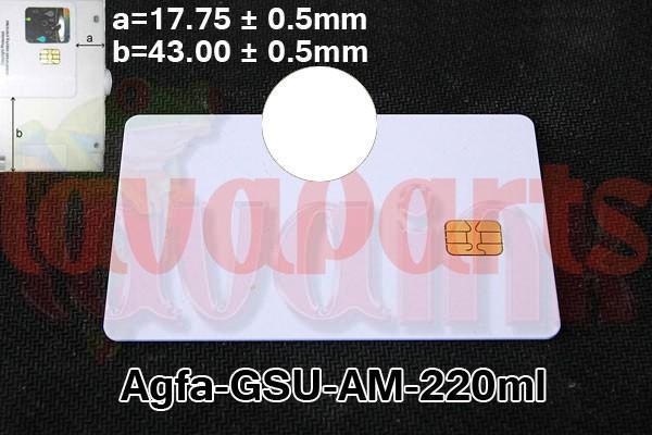 Clean Agfa GSU AM Chip 220 ml