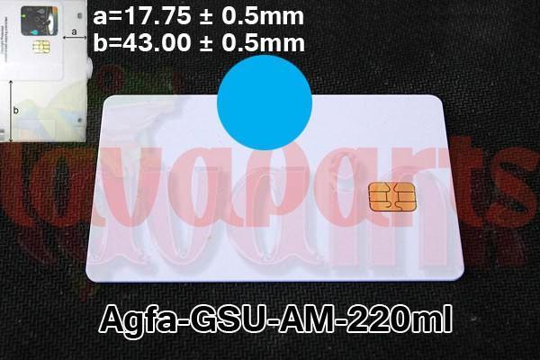 Agfa GSU AM Chip 220 ml Cyan