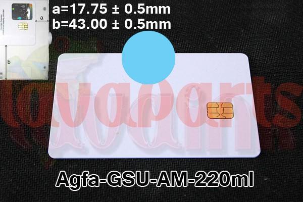 LC Agfa GSUAM Chip 220 ml