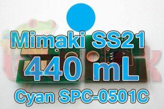 Mimaki Chip SS21 Cyan SPC-0501C
