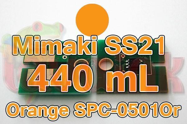Mimaki Chip SS21 Orange SPC-0501Or