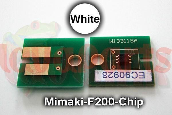 White Mimaki F200 Chip