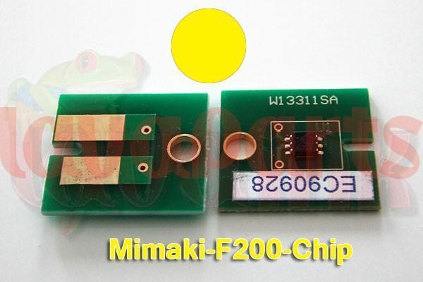 Mimaki F200 Chip Yellow
