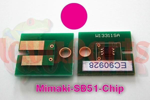 Mimaki SB51 Chip Magenta