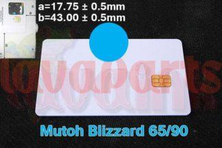 Cyan Blizzard Chip