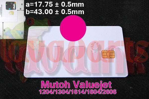 Magenta Mutoh Valuejet 1604 Chip