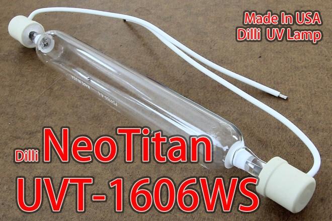 Dilli NeoTitan 1606WS UV Lamp 1922F-1