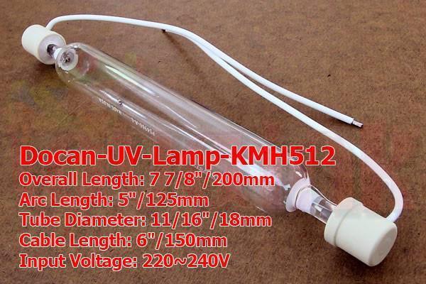 Docan UV Lamp KMH512