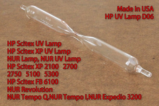 HP UV Lamp D06