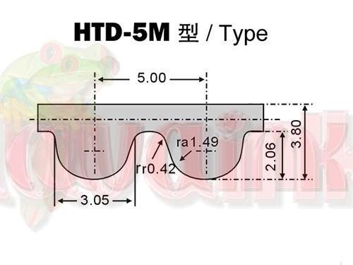 Belt Type HTD 5M