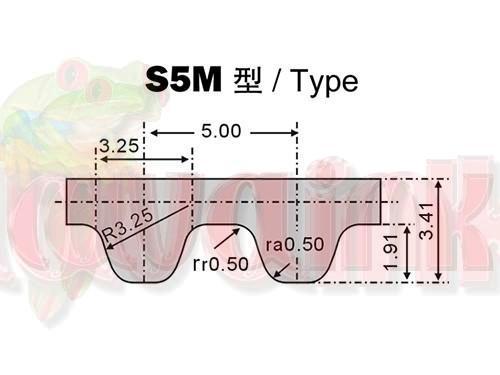 Belt Type S5M