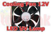 UV Parts Fan 12V for UV Lamp Cooling Image