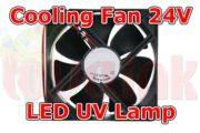 UV Parts Fan 24V for UV Lamp Cooling Image