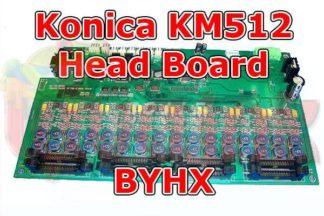 Konica KM512 Head Board BYHX