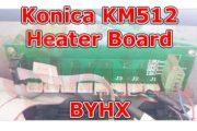 UV Parts Konica KM512 Heater Board BYHX Image