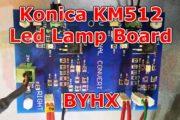 UV Parts Konica KM512 LED Lamp Board Image