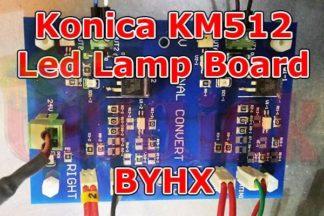 Konica KM512 LED Lamp Board