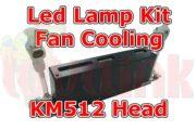 UV Parts Konica KM512 LED Lamp Kit Fan Cooling System Image