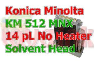 Solvent Konica Minolta KM-512 MNX 14pL PrintHead