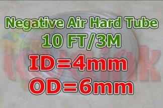 Tubing Hard ID4 OD6 for Negative air pressure line