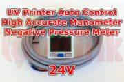 UV Parts Negative Air Pressure Meter Automatic Range Switching 24V Image