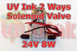 UV Ink Solenoid Valve 24V 2 Ways   Gerber Solenoid Valve