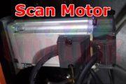 UV Parts Panosonic Scan Motor Image