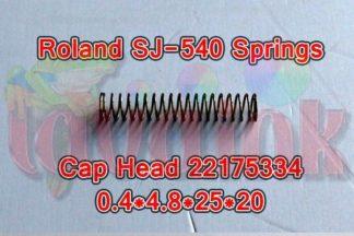 Roland SJ-540 Springs Cap Head 22175334