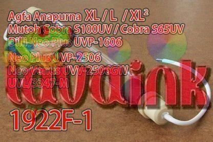 Agfa Anapurna XL 2 UV Lamp 1922F-1 | F07N4F1 Agfa Anapurna XL Lamp | Agfa Anapurna L Lamp | Agfa Anapurna XL-2 Lamp | Mutoh Cobra S100UV Lamp | Mutoh Cobra S65UV Lamp | Dilli Neo Plus UVP-1606 Lamp | Dilli Neo Plus UVP-2506 Lamp | Dilli Neo Venus UVV-2506GW Lamp | Dilli Neo Venus UVL 3347-M Lamp