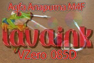 agfa anapurna m4f uv lamp vzero 085d