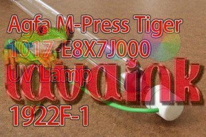 Agfa M-Press Tiger 1017-E8X7J000 UV Lamp