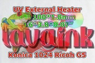 Big External UV Printhead Heater