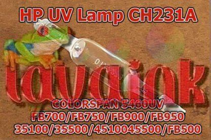 Hp 35100 Uv Lamp Ch231a