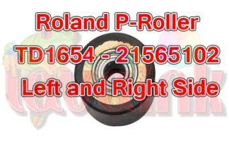 Roland Paper Roller TD1654 21565102 left right side roller