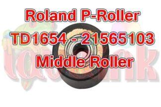 roland paper roller td1654 21565103 middle roller