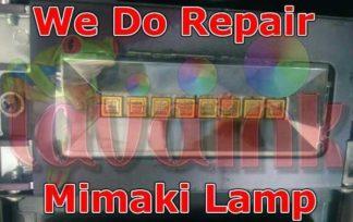 Repair Mimaki Lamp   Reparación Mimaki Lámpara   Reparar a lâmpada Mimaki   Reparieren Mimaki Lampe   Réparation Lampe Mimaki   Ремонт Mimaki лампы