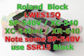 Roland XC-540 Block LWES15Q