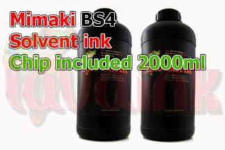 Mimaki BS4 Solvent Ink