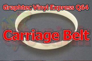 Graphtec Vinyl Express Q64 Carriage Belt Bando