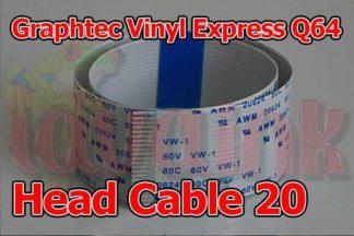Graphtec Vinyl Express Q64 Carriage Head Cable 20