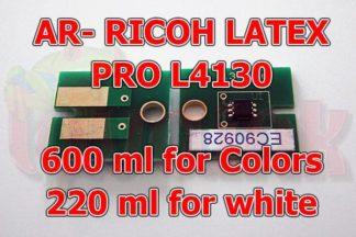 Ricoh PRO L4130 AR Latex Chip
