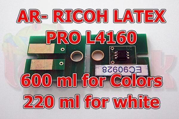 Ricoh PRO L4160 AR Latex Chip