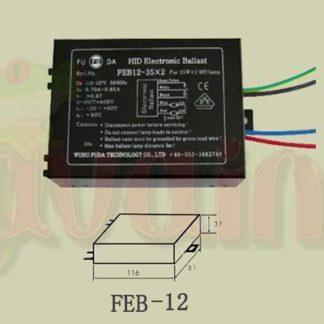 Electronic Ballast FEB12-20X2