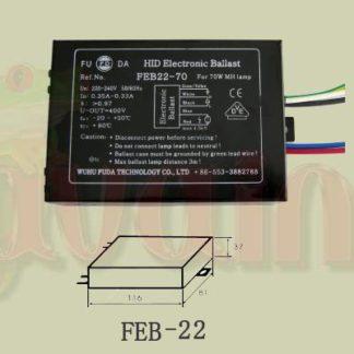 Electronic Ballast FEB22-70