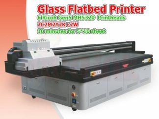 Glass UV Flatbed Printer Toronto