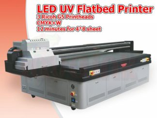 LED UV Flatbed Printer Toronto | Ricoh G5 Printhead